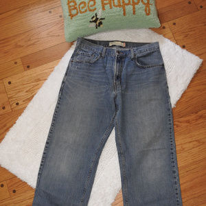 Levi 569 Loose Straight Jeans 33 x 32